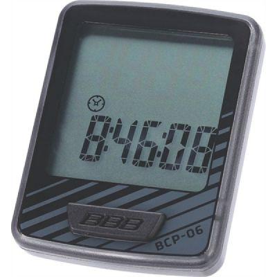 Bcp-06 Fietscomputer Dashboard 10-Functies Zwart/Grijs