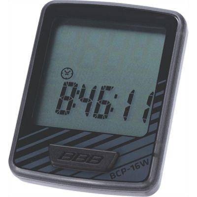 Bcp-16W Fietscomputer Dashboard 12-Functies Zwart/Grijs